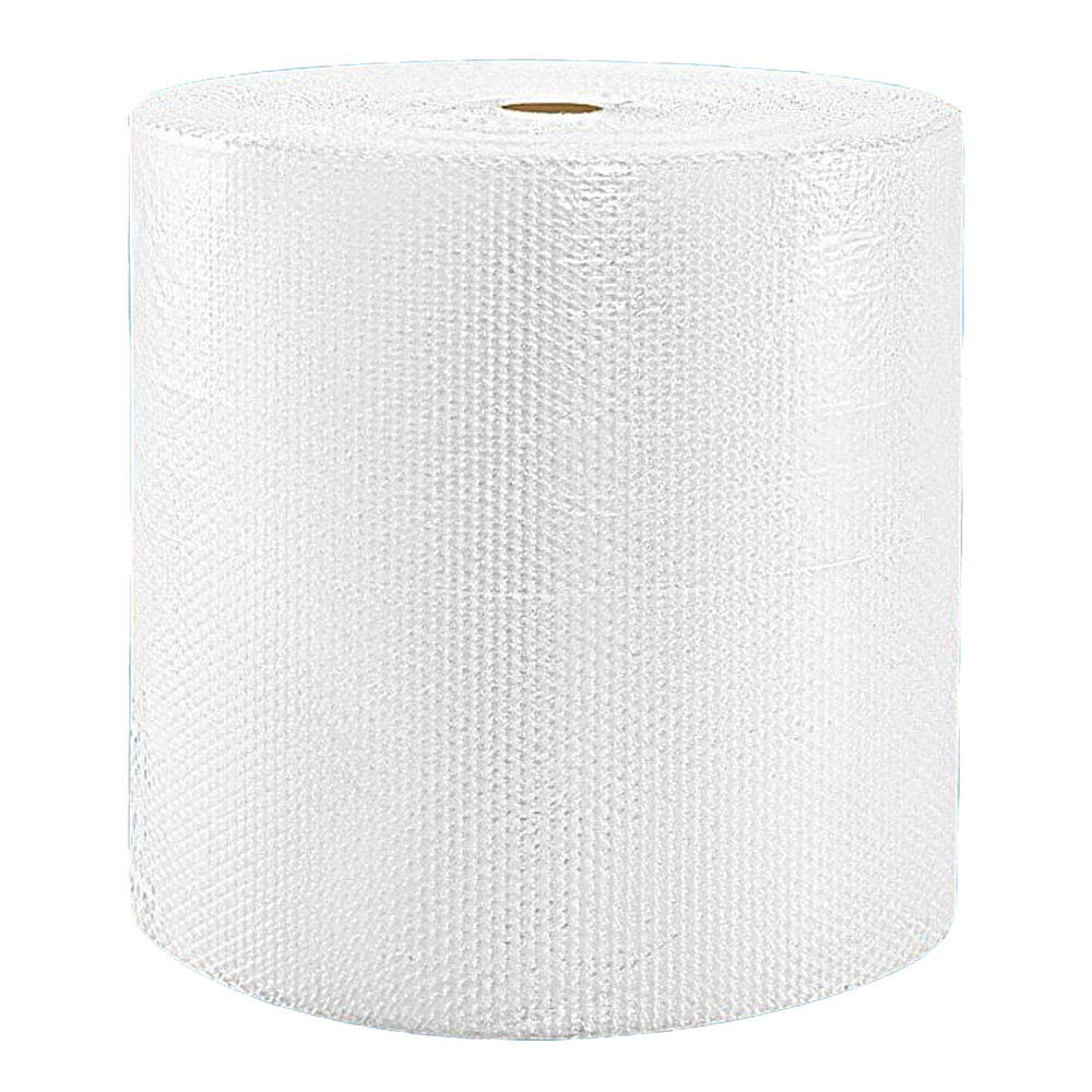 Pacific Mailer Bubble Cushioning Wrap Roll 24'' x 350' x 3/16'' Small, Perforated Every 12'' for Packaging, Shipping, Mailing
