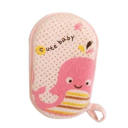 Esponja de baño para bebé KLXJ: Esponja de ducha para recién nacido ...