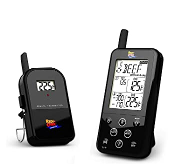 Maverick ET-733 Long Range Wireless Dual Probe BBQ Smoker Meat Thermometer Set