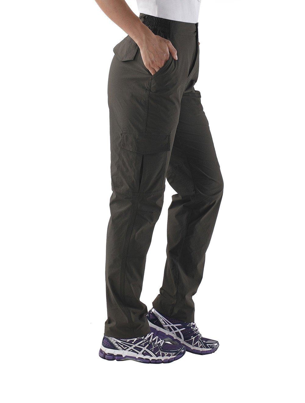 Nonwe Pantalon Femme Léger à Séchage Rapide Randonnée Marche Pédestre Sport  Hiver 74212ec247e