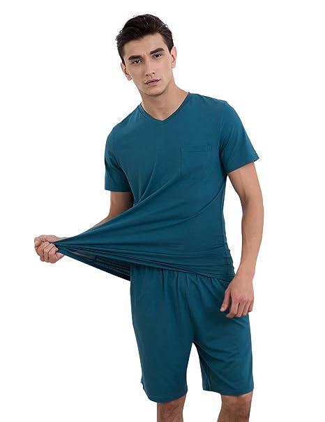 Greenfield - Pijama - para hombre azul azul XX-Large