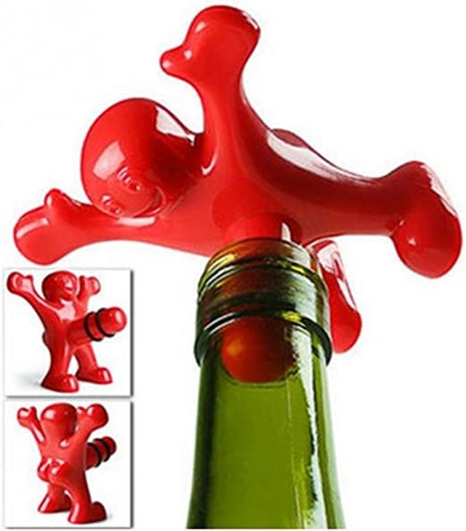Wine Gift Funny Wine Stoppers Bottle Stopper- FREE Ship Funny Gifts Cork Stoppers Friends Wine Stoppers 1-Sarcasm Wine Stoppers