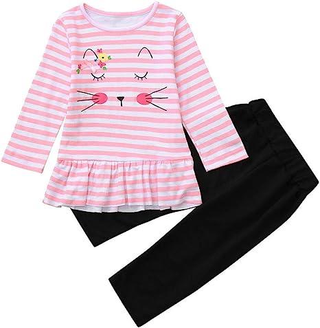 Conjunto de Pijamas bebé recién nacido Niñas, mamum 2 piezas ...