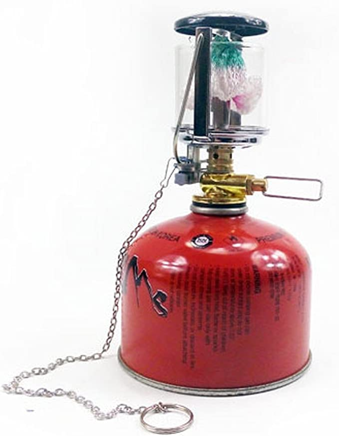 visork al aire libre Camping farol de gas camisas para hornillo de gas campo farol de gas de repuesto accesorios de camisas para hornillo de gas para ...