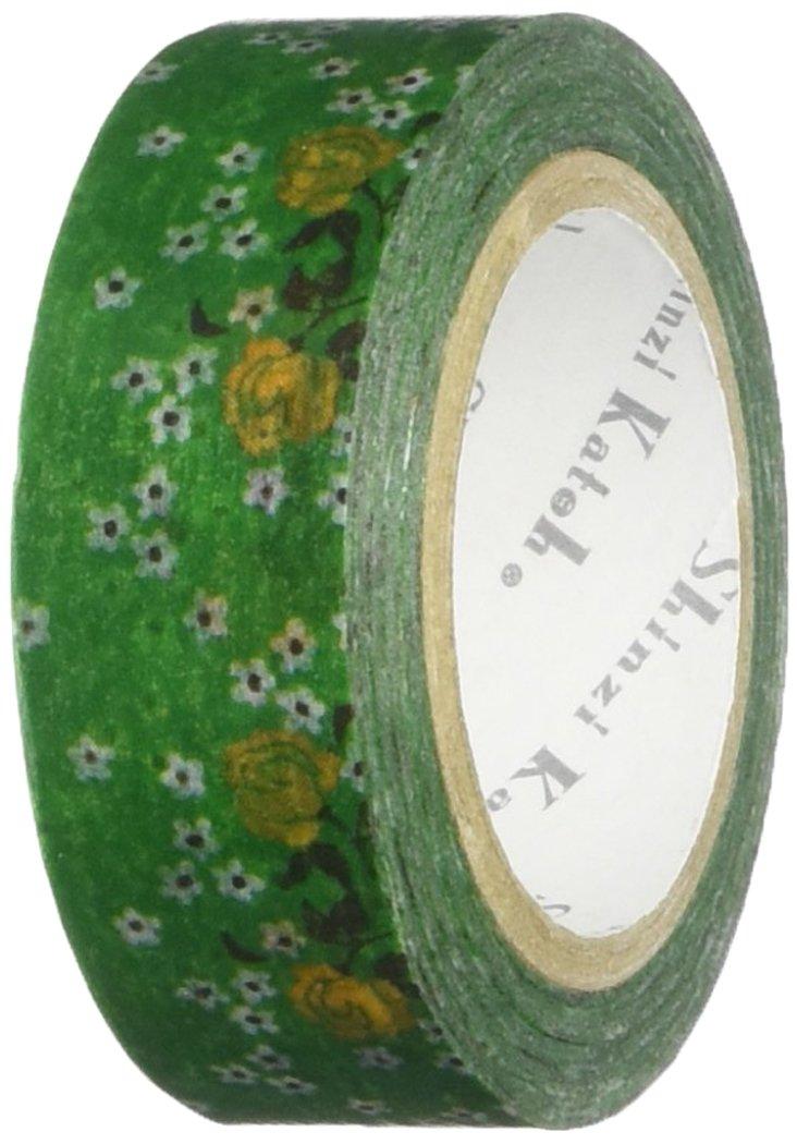 SEAL-DO Shinzi Katoh Washi Masking Tape, Flower7 (ks-mt-10054)