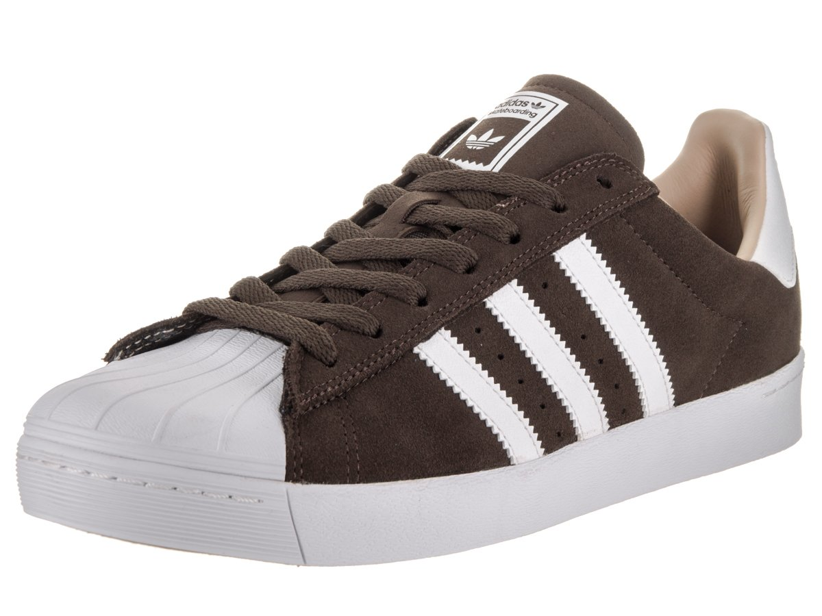 adidas Originals Men's Superstar Vulc Adv Shoes B01HMZ2T4A 11 B(M) US Women / 10 D(M) US Men|Brown/White/Gold Metallic