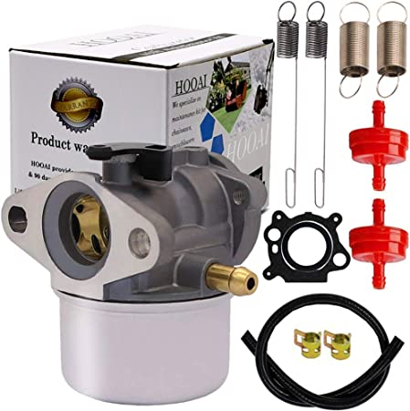 amazon.com : 799868 carburetor for briggs & stratton 694202 693909 ... brigg stratton lawn mower carburetor diagram 498170  amazon.com