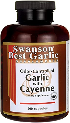 Swanson Garlic Garlic Supplement