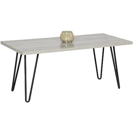 Caraya Coffee Table With Metal Hairpin Legs