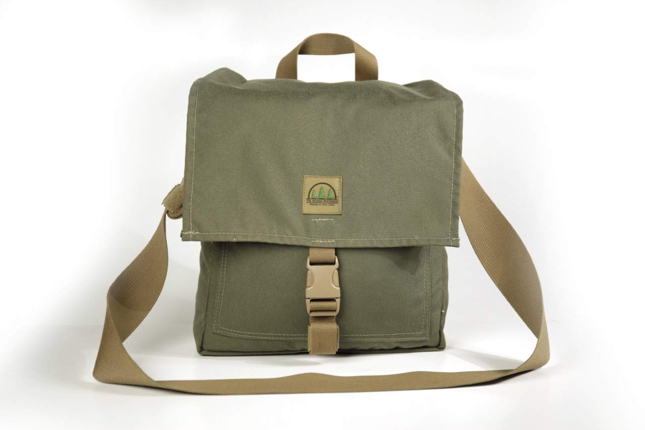The Hidden Woodsmen, Haversack, Bushcraft Pack, Backpack (Ranger Green)
