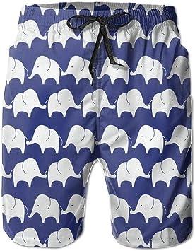 HEAGRWGRE Fondo de Pantalla de Elefantes Pantalones de Playa ...