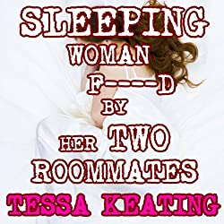 Sleeping Woman F--ked By Her Two Roommates