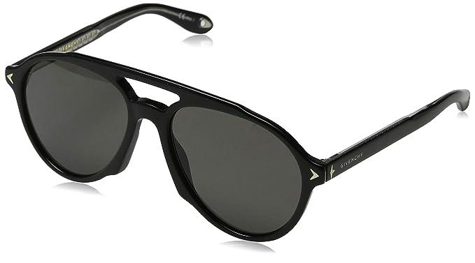 Givenchy GV 7076/S M9 807 Gafas de Sol, Negro (Black/Grey ...