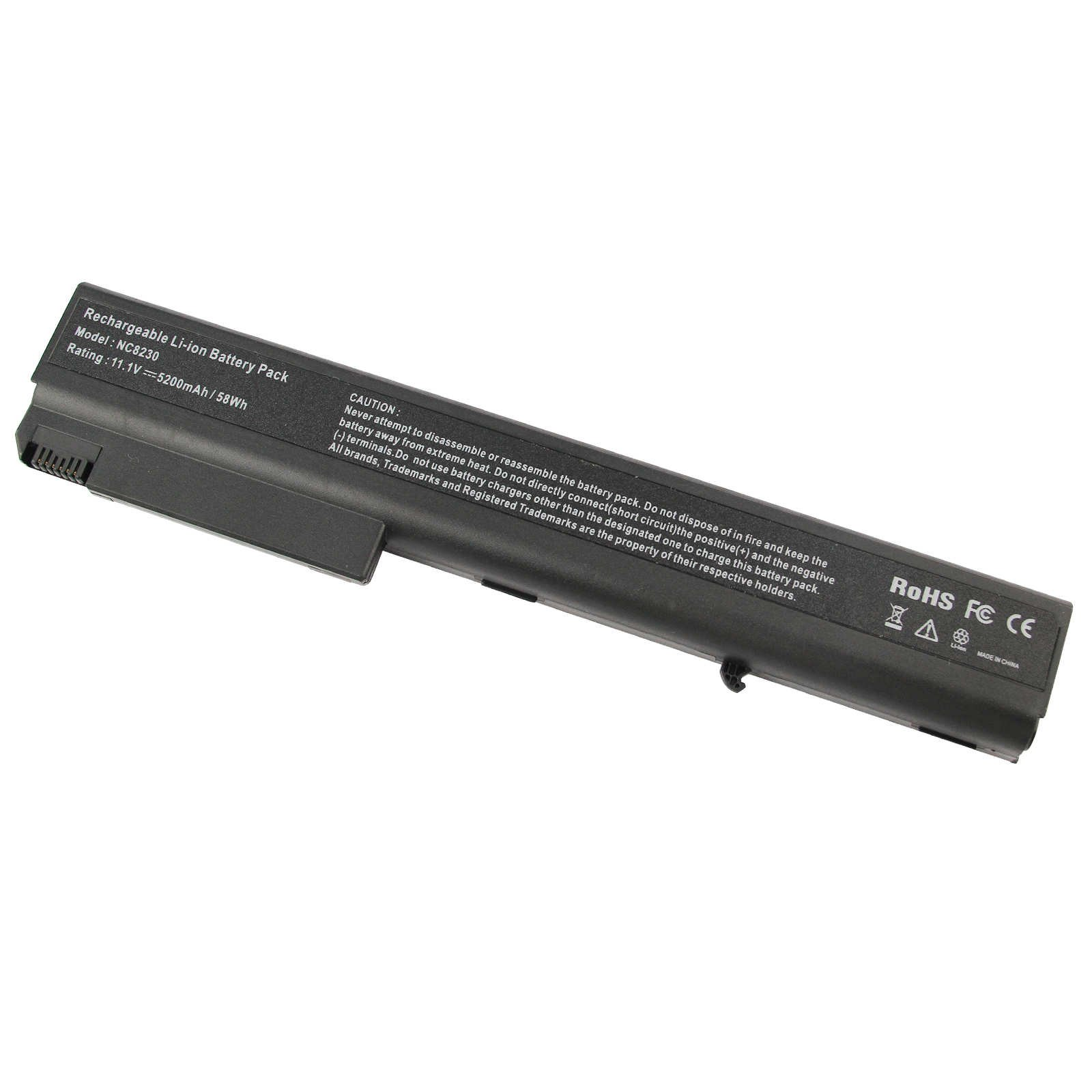 [10-Pack] New Compaq NX9420 Laptop Battery for HP Compaq 8510 8510W 8710W 8710P 8510P NC8430 NX7400 NX8200 NX8230 NX9400, fits P/N PB992A - 12 Months Warranty [6-Cell Li-ion 5200mAh]