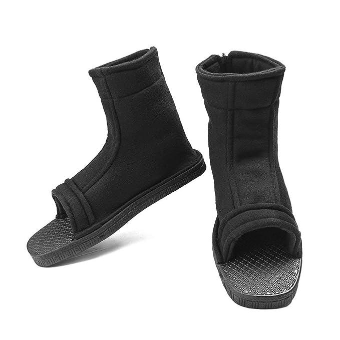 Ninja naruto zapatos cosplay