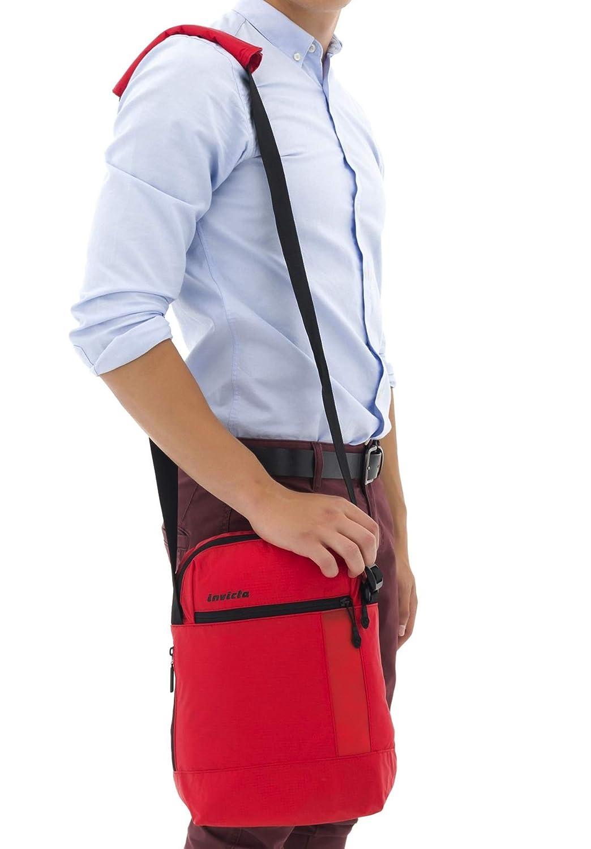 Rosso Tracolla Invicta Tempo Libero /& Studio Vertical Shoulder Bag I-Time