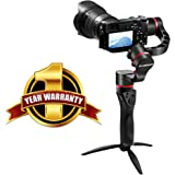 45 Degrees 3-Axis Motorized Gimbal Handheld Stabilizer Fosicam FM1-45 For Sony A7R2 A7S A6300 A6500 Panasonic Lumix GH4 GH5 Nikon Canon mirrorless micro-DSLR cameras