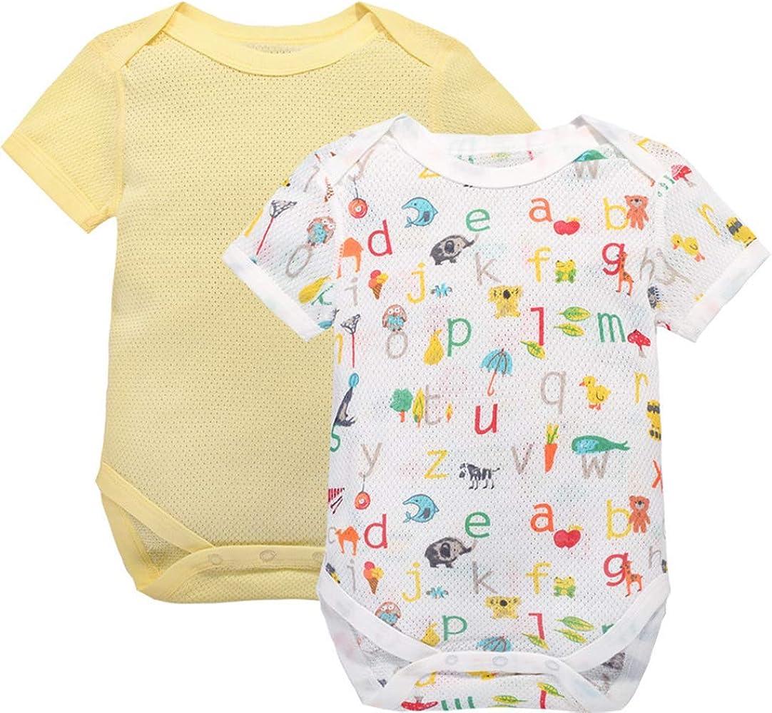 Pijiama para Bebé Pack de 2 Niños Niñas Pelele Manga Corta ...