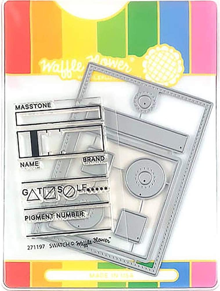 Waffle Flower Crafts 271197 Clear Stamps 2X3-Swatch