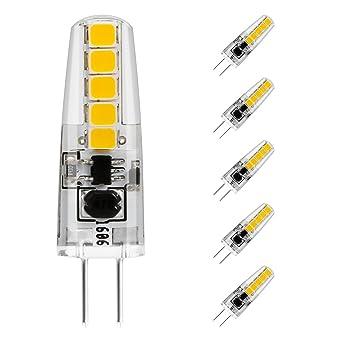 2w Chaud 3000kChandeliers12v De Équivalent210lmBlanc Lot Halogène Dcac À Le 5 Ampoule Ampoules G4 Led Cob20w WrdexCBo