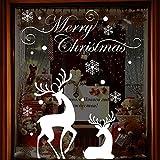 DELIKANG Christmas Display Window Clings