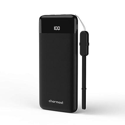 Charmast Powerbank 10400mah Externer Akku Quick Charge 3.0 USB C Power Delivery Digital Display Handy Ladegerät Micro USB Typ