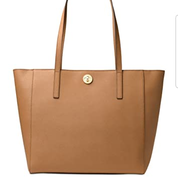 96baacbfe Image Unavailable. Image not available for. Color: Michael Kors Rivington  Acorn Large Tote Bag