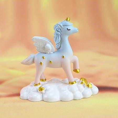 Tonglisen Colorida decoración de Unicornio para Tarta de los ...
