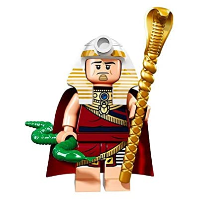 LEGO Batman Movie Series 1 Collectible Minifigure - King Tut (71017): Toys & Games