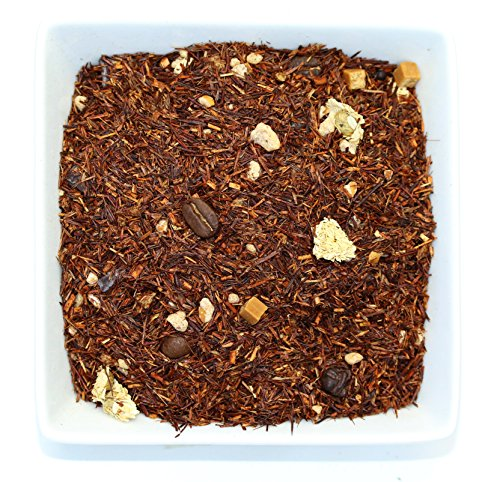 Tealyra - Un Momento Tiramisu - Red Bush Rooibos Dessert Tea - Chocolate - Caramel - Herbal Loose Leaf Tea - Relaxing - Caffeine-Free - Antioxidants Rich - 112g (4-ounce) (Tiramisu Dessert)