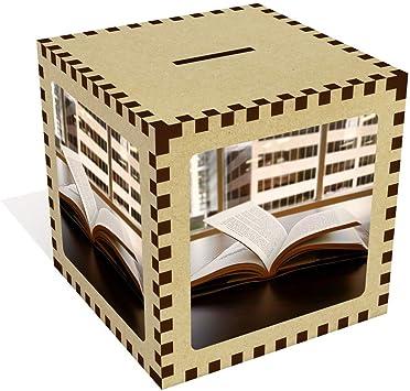 Stamp Press Grande Libro Abierto Caja de Dinero / Hucha (MB00004236): Amazon.es: Juguetes y juegos