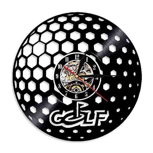 GUDOJK 1 Unidades Pelota de Golf Disco de Vinilo diseño Reloj de ...