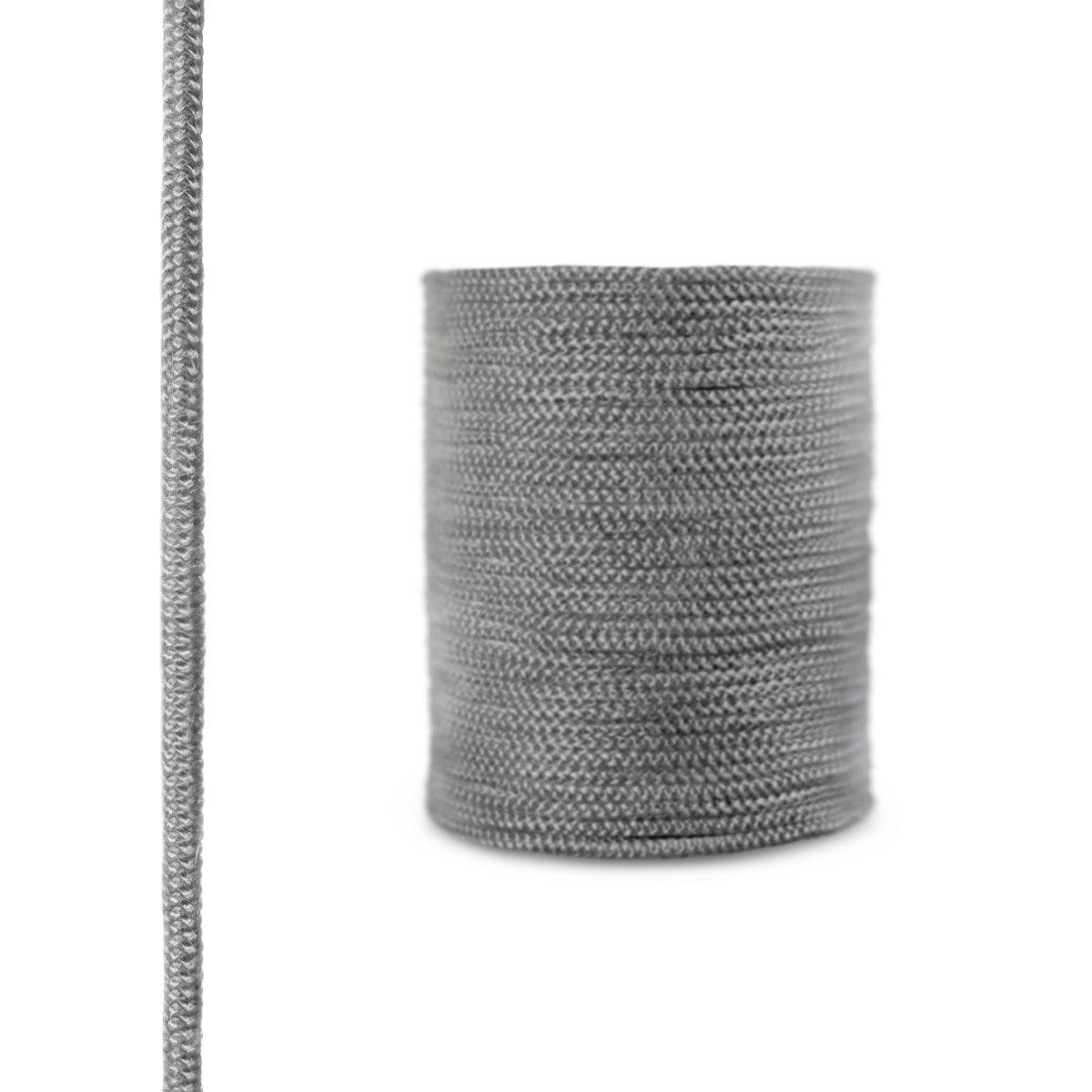2,5 m STEIGNER Corde en Fibre de Verre SKD02-10 10 mm Scellant Gris Fonc/é R/ésistante /à la Temp/érature jusqu/à 550 /° C