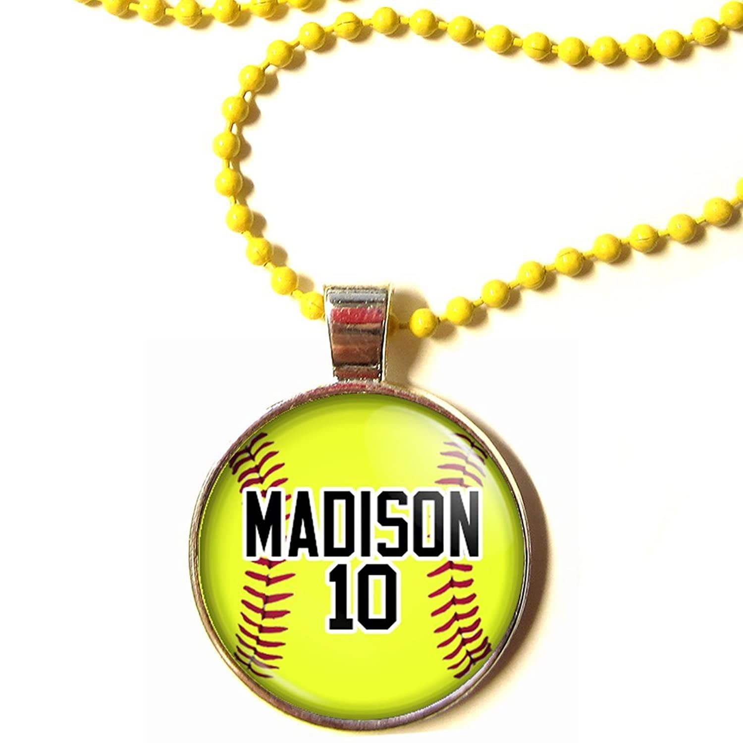 the diy baseball exhausted necklaces softball washer mom necklace