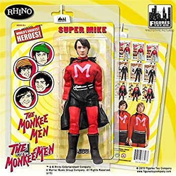 The Monkees; 8 inch action figures Series 1; MONKEE MEN SUITS; SUPER MIKE NESMITH