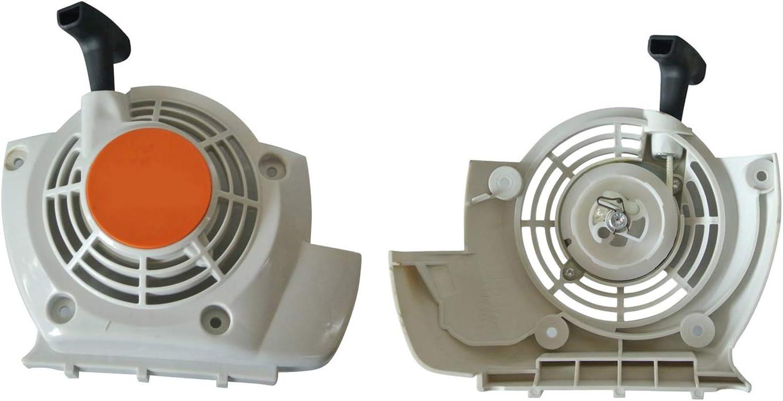 Hippotech Nuevo arrancador de Arranque por Retroceso y Retroceso para Adaptarse a la desbrozadora STIHL FS120 FS200 FS250: Amazon.es: Jardín