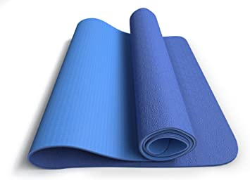 MRS Fitness Yoga Mat - Eco Friendly, Nonslip for Hot Yoga; Travels Easily in Your Yoga Bag; Comes with Yoga Mat Strap Carrier; Best, Thick, Organic ...