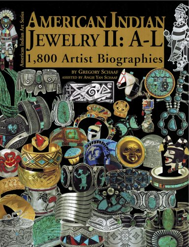 American Indian Jewelry II: A-L (American Indian Art)