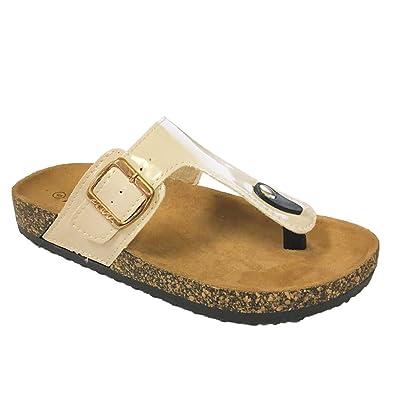 SO® Bullshark Women's Platform ... Footbed Sandals dX2jE7