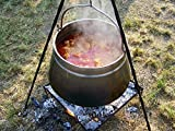 Home Comforts Canvas Print Food Cooking Free Fire Kettle Goulash Stretched Canvas 10 x 14