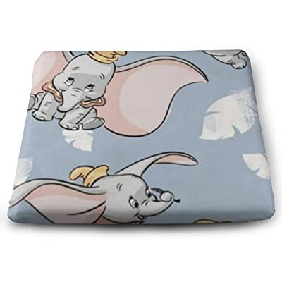 MVSDISRY Outdoor/Indoor Square Corner Seat Cushions Cute Dumbo Chair Pad with Washable Cover: Home & Kitchen