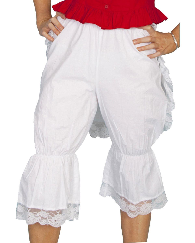 Scully Rangewear Women's Rangewear Bloomers with Bustle White X-Small