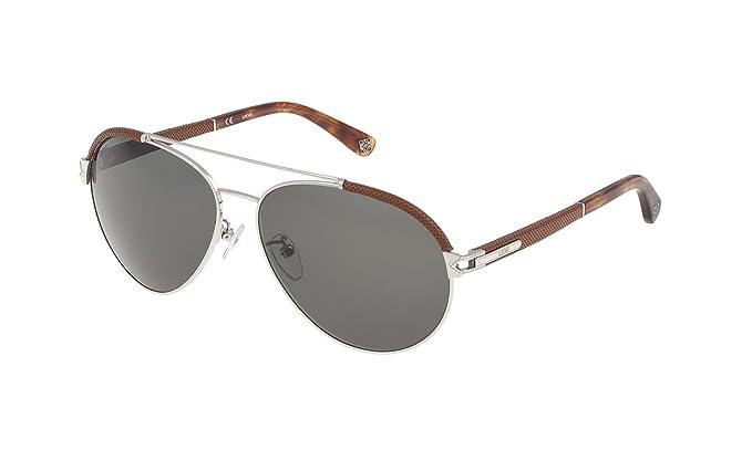 Loewe SLW457M610579 Gafas de Sol, Shiny Palladium, 61 para ...