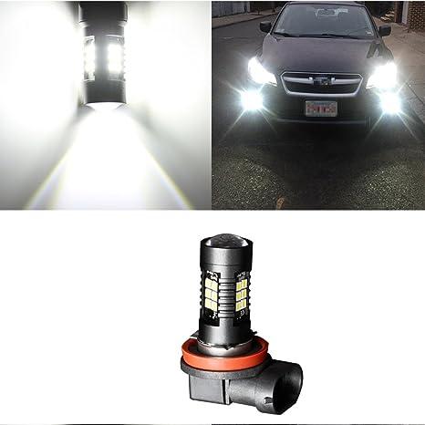 1 pieza 1200 lm H11 LED luces de coche Auto LED Bombillas 3030 Blanco Luz de