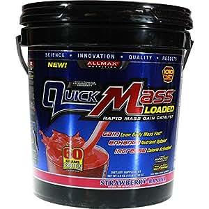 ALLMAX Nutrition Quick Mass Strawberry Banana -- 10 lbs