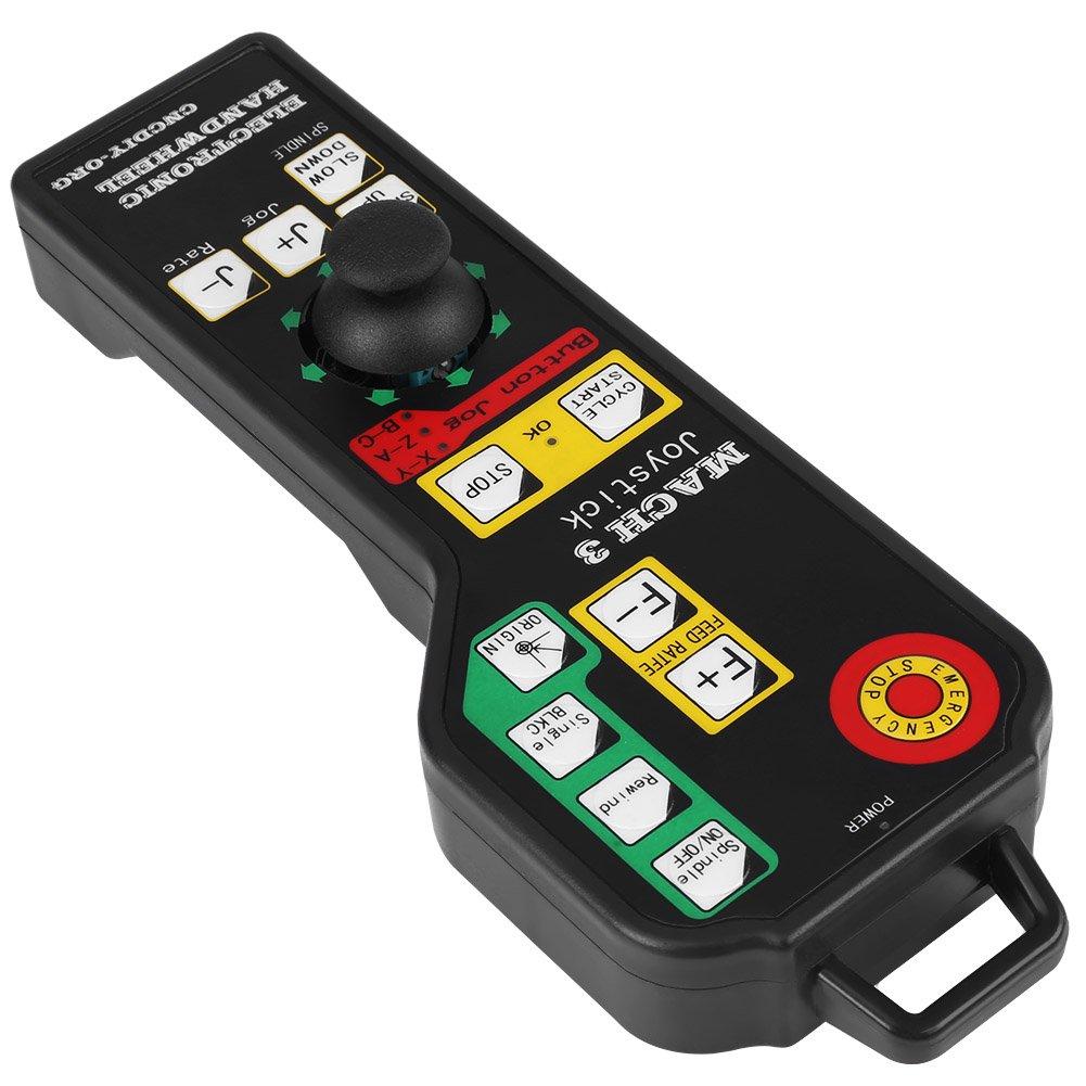 Controlador Manual Conector USB de 6 Ejes de Control para Mach3 Accesorios de Máquina de Grabado CNC: Amazon.es: Industria, empresas y ciencia