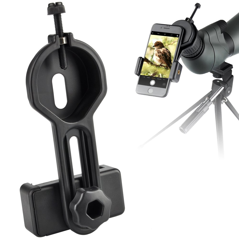 Universal Plastic Telescope Smart Phone Photo Adapters Mount for Binocular Monocular Spotting Scope