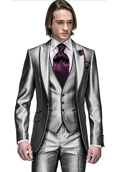 Amazon.com: Custom made – Gmw Mens Padrino boda Esmoquin ...
