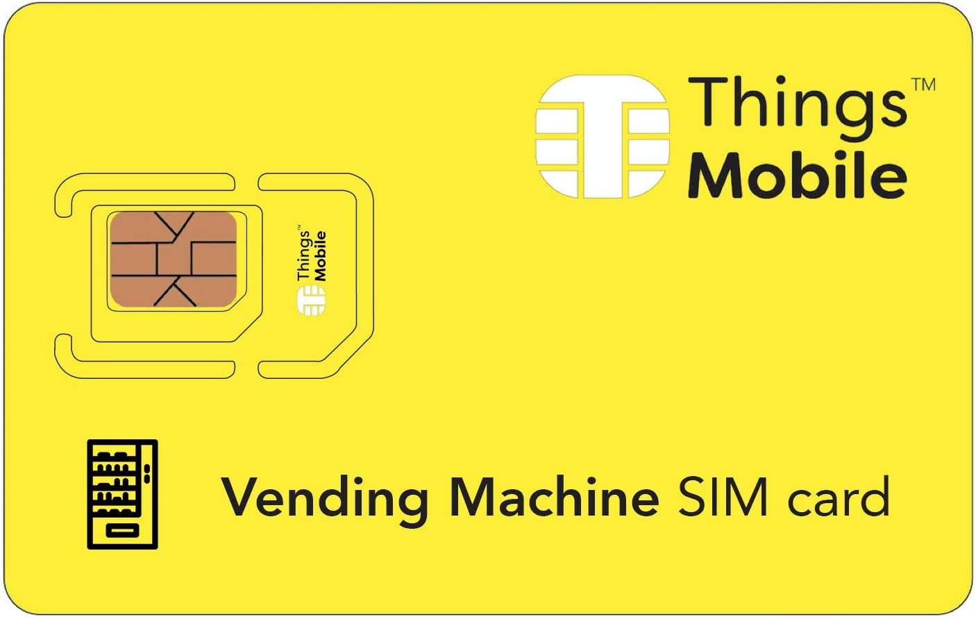 Tarjeta SIM para máquinas expendedoras / vending machines - GSM / 2G / 3G / 4G con un crédito incluido de 10 €