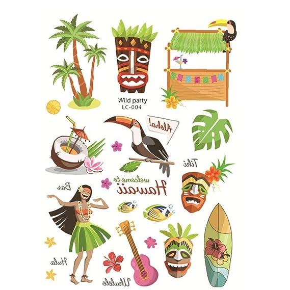 Summer Party Decor Suministros Tropical Del Partido Hawaiano ...